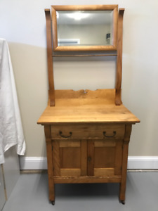 For Sale ... Antique Commode with Mirror