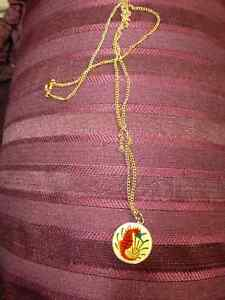 Hand Enamelled Coin Necklace Kitchener / Waterloo Kitchener Area image 2
