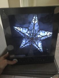 L.E.D STAR TREE TOPPER