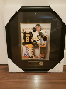 Cam Neely signed and framed photo NHL