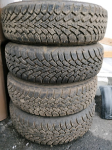 205 65 R15 GOODYEAR winter tires