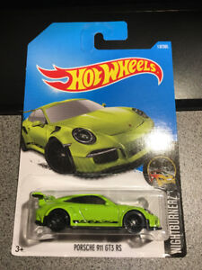 Hot wheels Porsche 911 GT3 RS Green