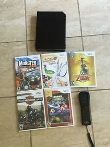 Black wii for sale