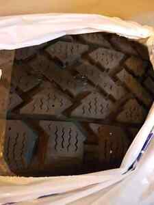 4 winter tires used 1 season size P195/60R15 all 4 7/30sec Cambridge Kitchener Area image 1