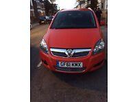 Vauxhall Zafira 61