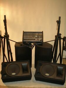 COMPLETE YORKVILLE  PA & MONITOR SYSTEM (REDUCED)