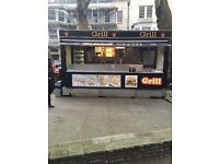 Burger van for sale