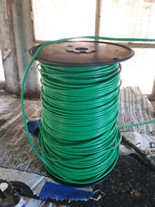 Ground wire reel 14awg