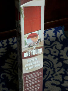 """FOR SALE - """"One Touch"""" Cordless Aluminum Blind (58"""" x 64"""")"""