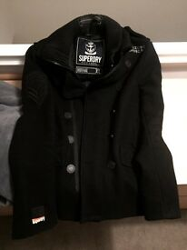 Superdry Smart/ Pea Coat, Size XL