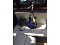 Beginners guitar and amp