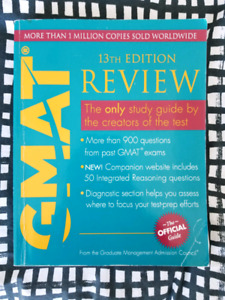 GMAT 13th Edition official guide