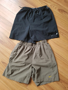 2 pairs of nike dryfit shorts $30