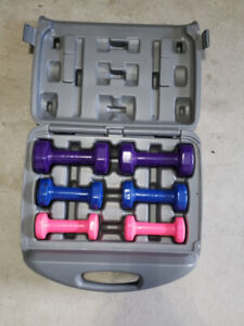 Dumbbell Set - 20lbs Neoprene Dumbbell set