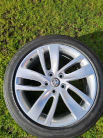 New vauxhall alloy wheel and tyre