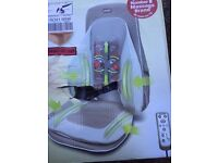 Back massager with heat NEW BOXED
