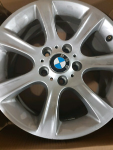 4 original rims for BMW 320i