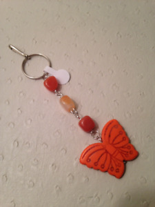Handcrafted Gemstone Key Chains and Fashion Charms