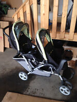 2012 Graco Duo Glide Stroller and Car Seat with Base