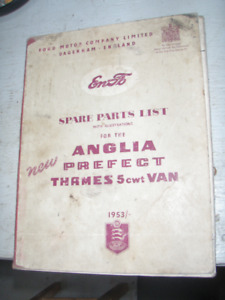 ANGLIA, PREFECT, THAMES PANEL MANUALS