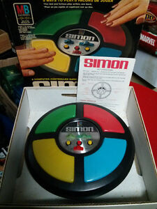 working vintage 1979 Simon from Milton Bradley  Game, box and ma