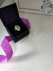 Real Emerald ring