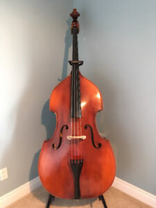 Student Model Double Bass With Accessories