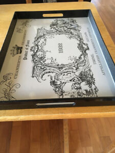 Serving tray, placemats, knife organizer