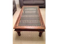 Large Jali Indian style coffee table