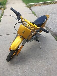 used once 49cc 2 stroke daymak pit bike $200 obo