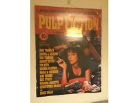 Framed film merchandise pulp fiction