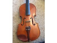Stentor student violin with case, bow and and resin