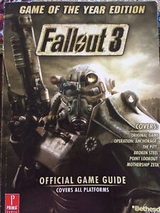 Game of the Year Edition Fallout 3 Official Game Guide