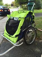 In-Step Ride and Stride Bicycle trailer