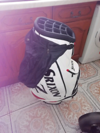 Golf caddy.
