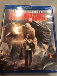 Rampage Blu-Ray Disc