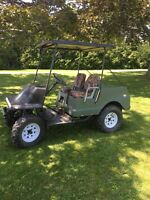 Golf cart for sale - with ATV frame and wheels