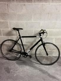 large charge plug single speed bicycle 700c bike size L