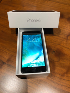 Silver iPhone 6 - 64GB Unlocked - Mint condition