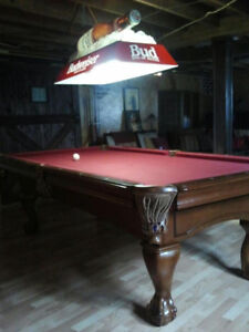 Beautiful Beringer Pool Table includes house on 6.6 Acres
