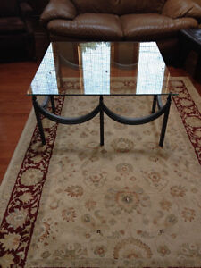 Wrought Iron Coffee Table with Glass Top Belleville Belleville Area image 4