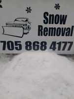 Snow Removal Coe Hill and surrounding areas