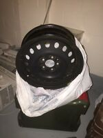 4 steel wheels used for Dodge Caliber