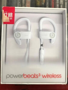 AND NEW Beats by Dr.Dre Powerbeats 3 In-Ear Bluetooth Sport Head