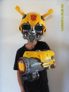 Transformers Bubblebee Head and arm