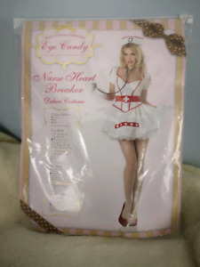 NEW Women's Sexy Nurse Costume, Lingerie Size Med (8-10)