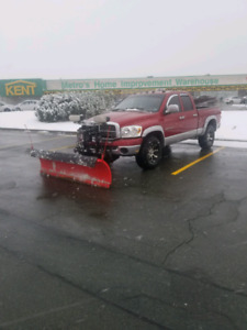 2008 dodge ram with plow