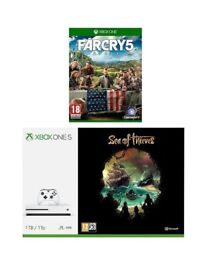 Xbox One 1Tb Boxed Brand New Console with xtra controller, 12 months live & Far Cry 5 Boxed New