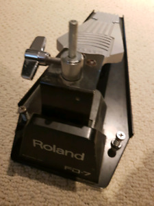Roland FD-7 and FD-6 Vdrum Pedals