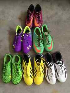 Soccer cleats Outdoor size 3, 4, 5, 7 and 8 youth $20/pair